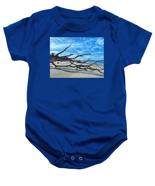 Stretch By The Sea Baby Onesie