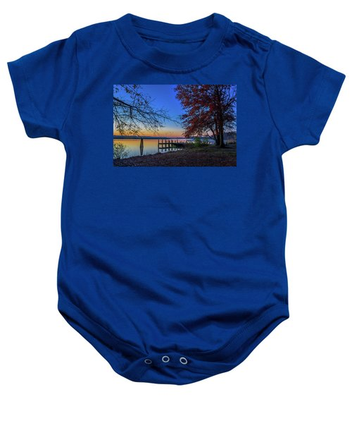 Sunrise On The Patuxent Baby Onesie