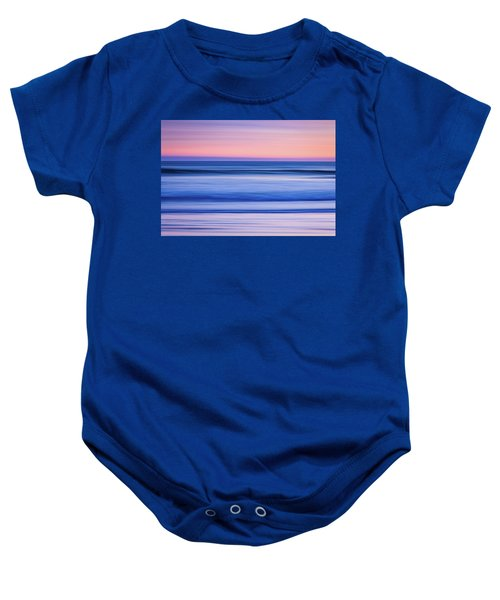 Sunset Abstract Baby Onesie