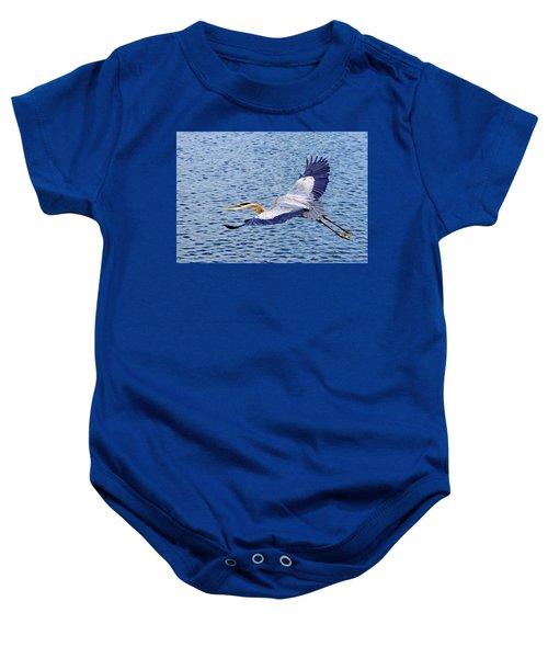 True Blue #3 Baby Onesie
