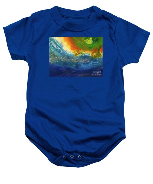 View From Space Baby Onesie
