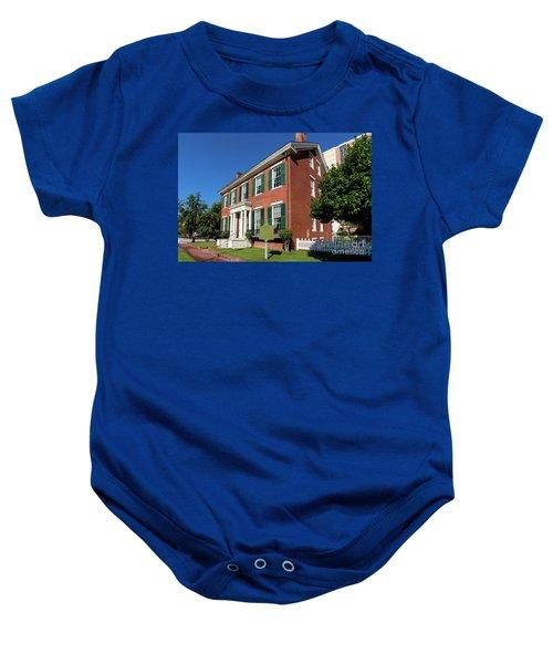 Woodrow Wilson Boyhood Home - Augusta Ga 2 Baby Onesie