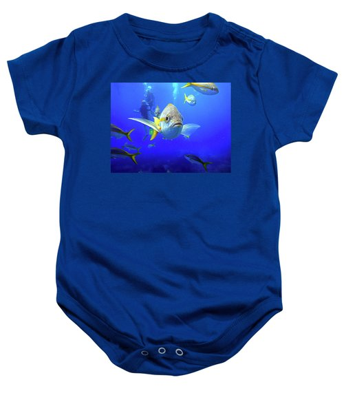 Yellowtails Baby Onesie