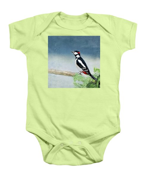 Woodpecker Baby Onesie