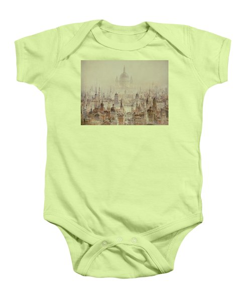 A Tribute To Sir Christopher Wren Baby Onesie