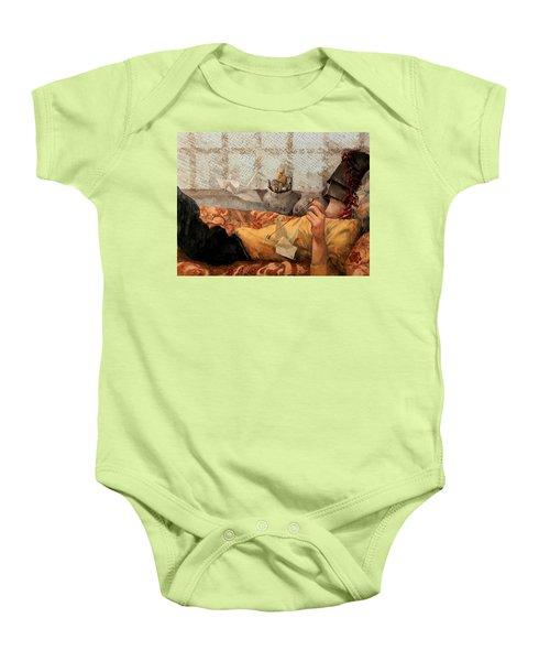 Cicogna Da Passeggio Baby Onesie