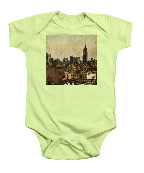 Empire Stories Baby Onesie by Andrew Paranavitana