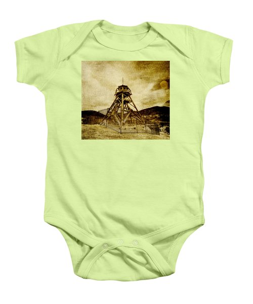 Helena-montana-fire Tower Baby Onesie