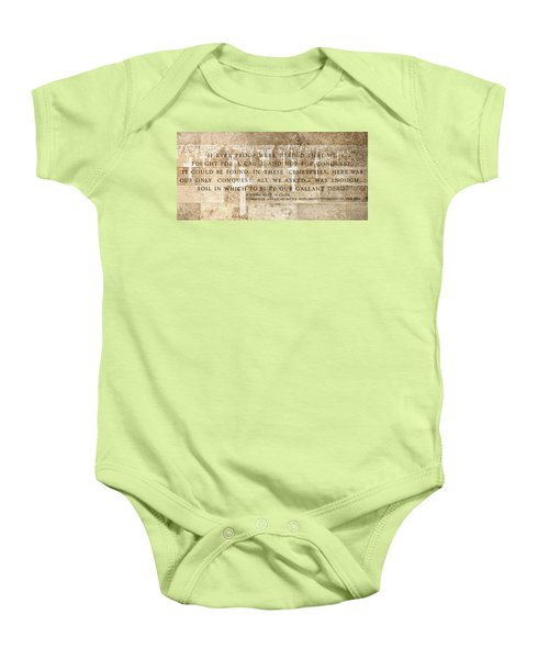 If Ever Proof Were Needed Baby Onesie