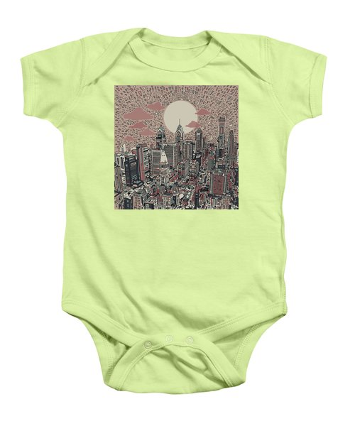 Philadelphia Dream 3 Baby Onesie