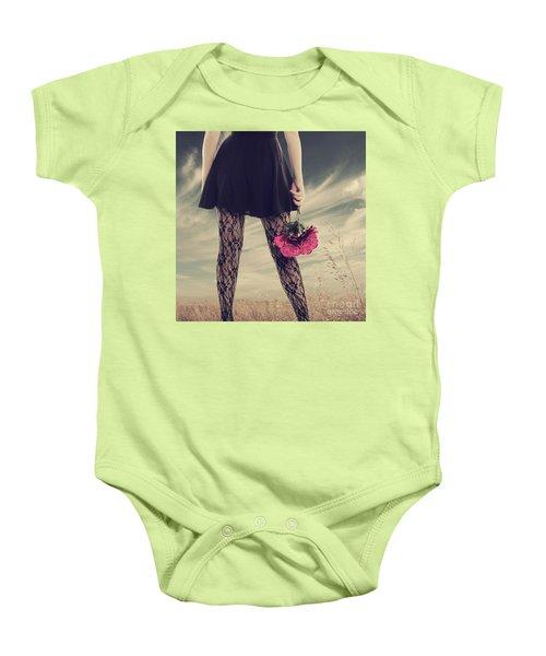 She's Got Legs Baby Onesie by Linda Lees