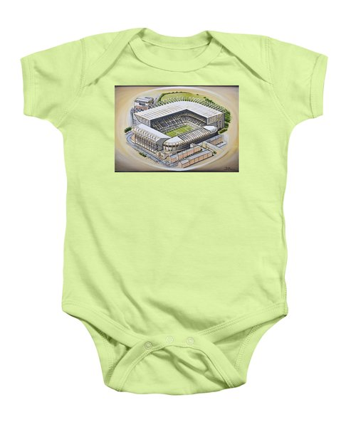 St  James Park - Newcastle United Baby Onesie
