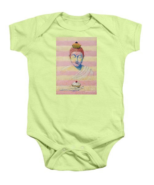 The Manifestation Of Cupcakes Baby Onesie