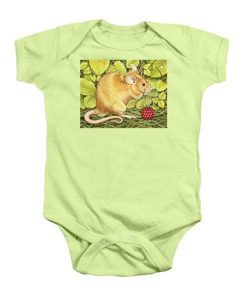 The Raspberry Mouse Baby Onesie