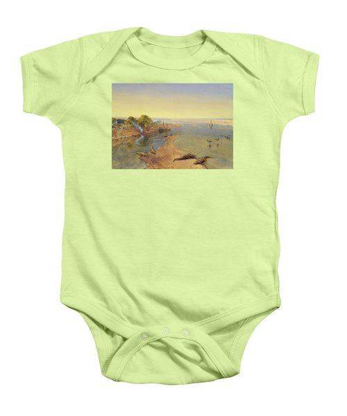 The Ganges Baby Onesie by William Crimea Simpson