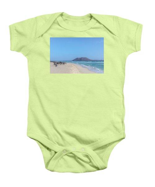 Corralejo - Fuerteventura Baby Onesie by Joana Kruse