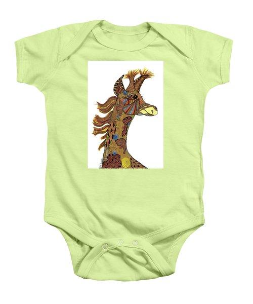 Josi Giraffe Baby Onesie
