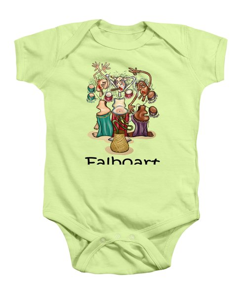 Smoking Belly Dancers Baby Onesie by Anthony Falbo