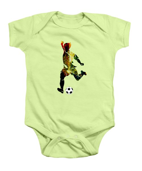 Soccer Collection Baby Onesie