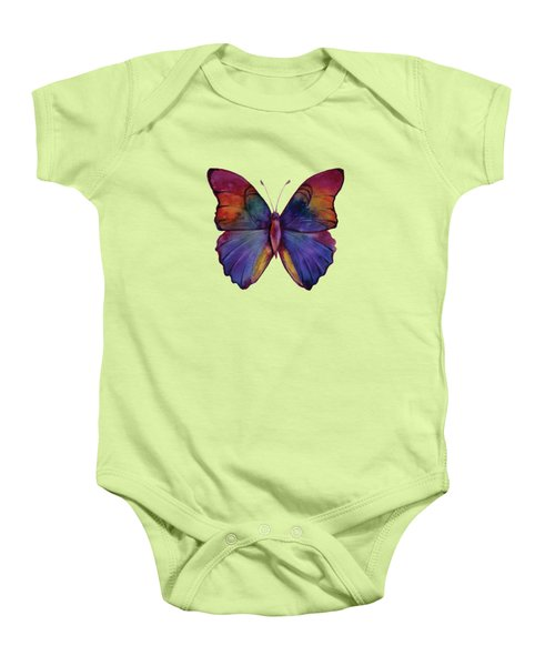 13 Narcissus Butterfly Baby Onesie by Amy Kirkpatrick