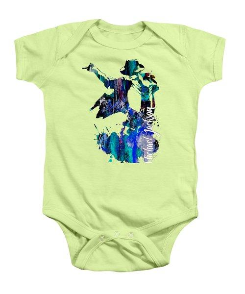 Michael Jackson Collection Baby Onesie
