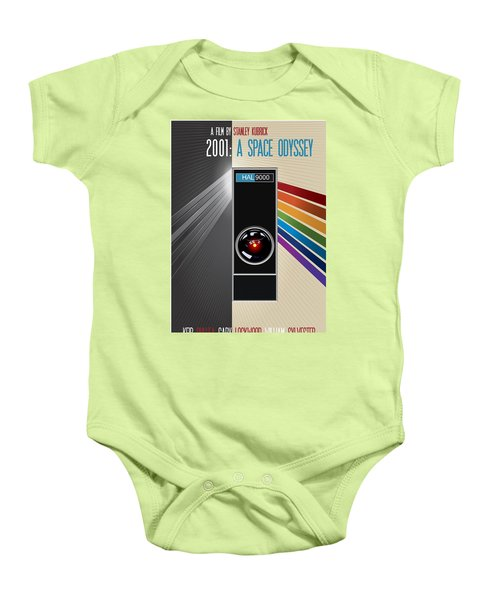 2001 A Space Odyssey Poster Print - No 9000 Computer Has Ever Made A Mistake Baby Onesie