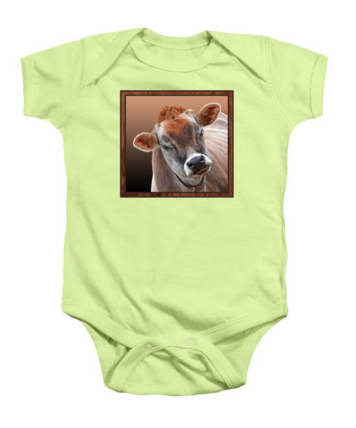 Hello Baby Onesie by Gill Billington