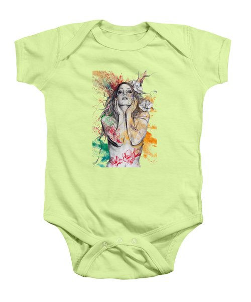 The Withering Spring Baby Onesie by Marco Paludet