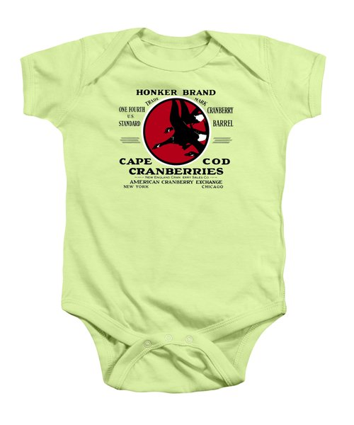 1900 Honker Cranberries Baby Onesie by Historic Image