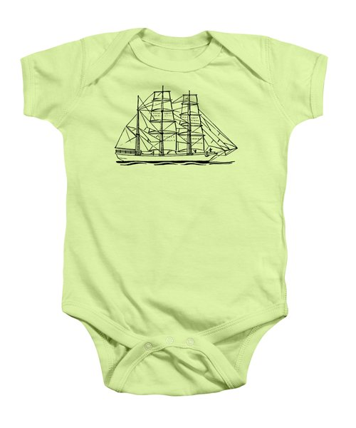 Bark Ship Baby Onesie