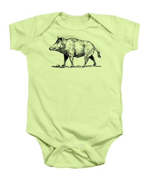 Boar Baby Onesie