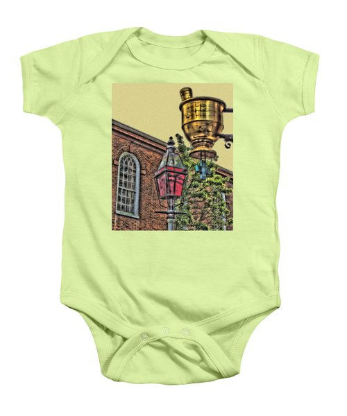 Boston Medicine Baby Onesie