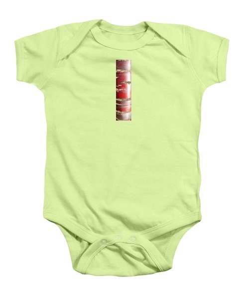 Baby Onesie featuring the photograph Bouleau Rouge by Marc Philippe Joly