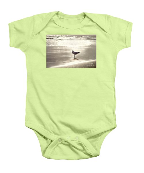 By The Sparkling Sea Baby Onesie