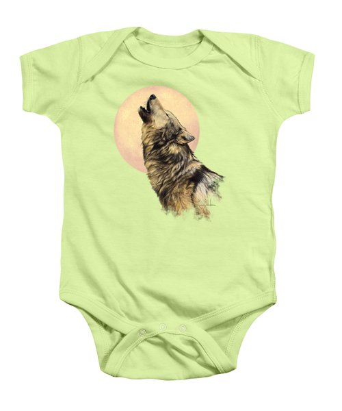Call Of The Wild Baby Onesie by Lucie Bilodeau