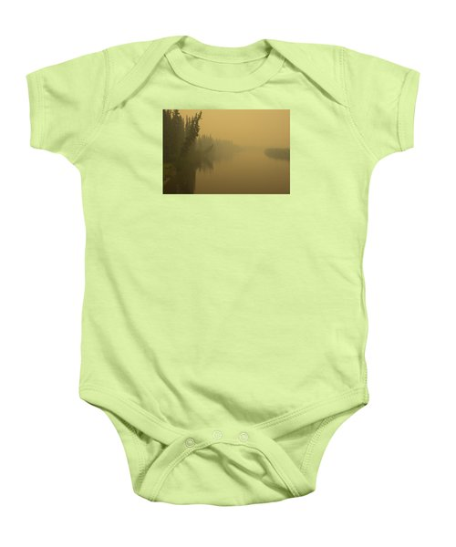 Baby Onesie featuring the photograph Chena River by Gary Lengyel