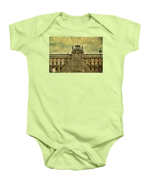 Classic Contradiction Baby Onesie by Andrew Paranavitana