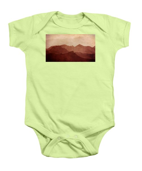 Death Valley Baby Onesie