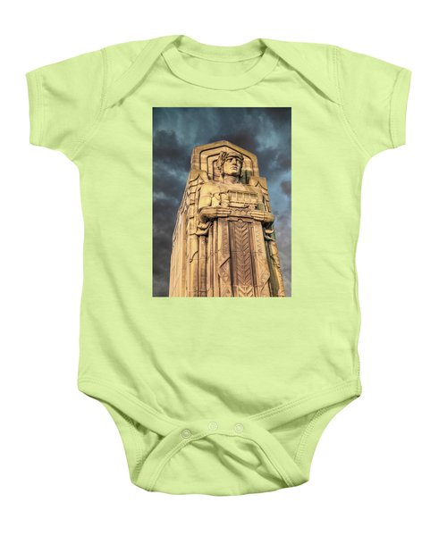 Delivery Truck Guardian Baby Onesie