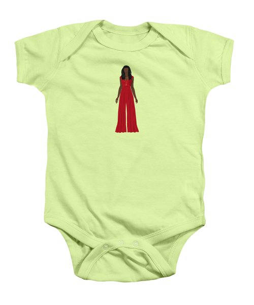 Baby Onesie featuring the digital art Destiny by Nancy Levan