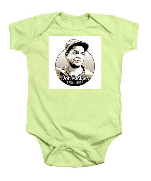Don Rickles Baby Onesie by Greg Joens