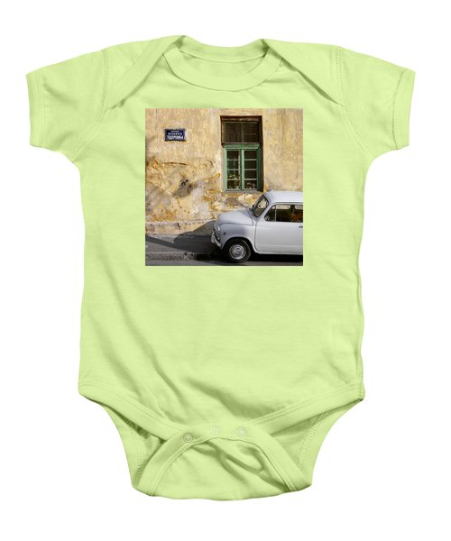 Fiat 600. Belgrade. Serbia Baby Onesie