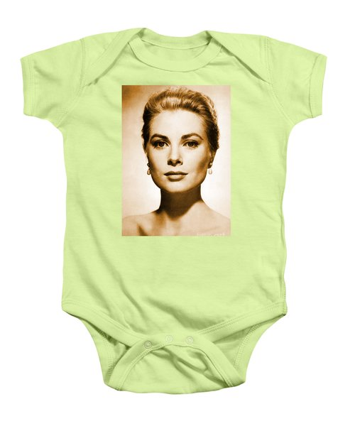 Grace Kelly Baby Onesie by Opulent Creations