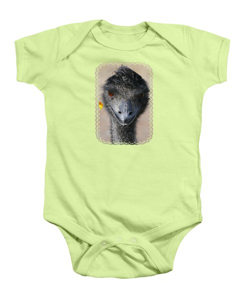 Happy Emu Baby Onesie by Ivana Westin