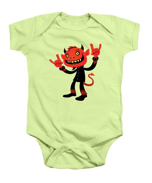 Heavy Metal Devil Baby Onesie