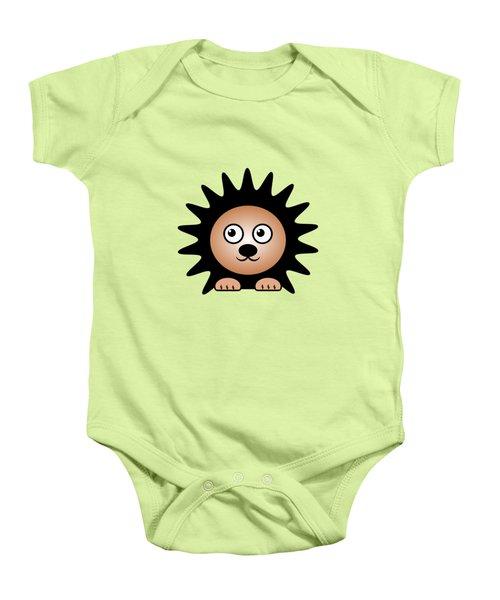 Hedgehog - Animals - Art For Kids Baby Onesie