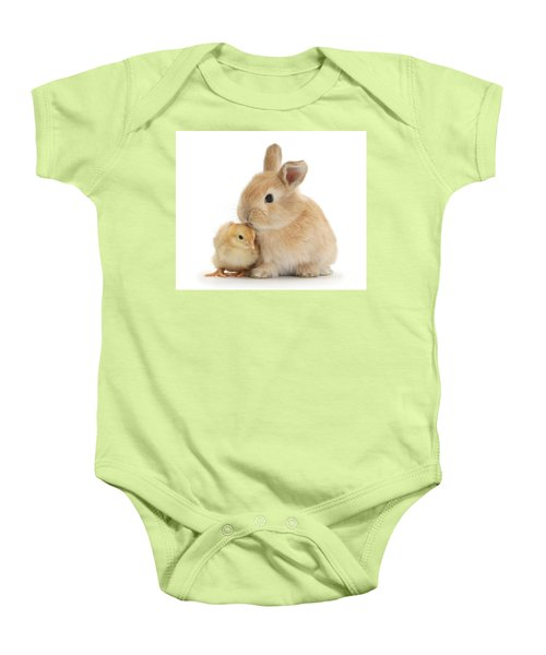 I Love To Kiss The Chicks Baby Onesie