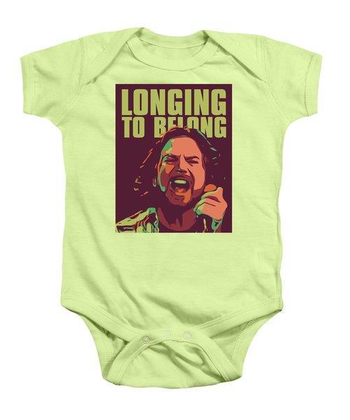 Eddie Vedder Baby Onesie by Greatom London