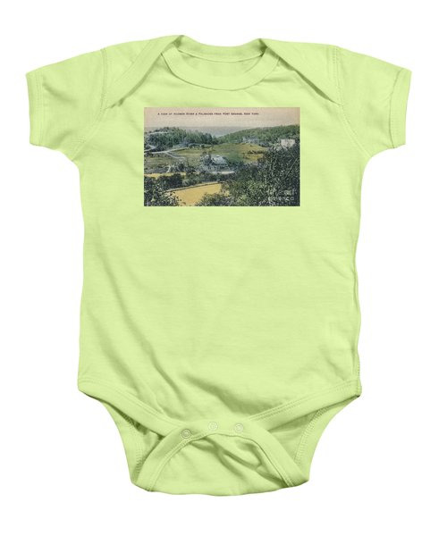 Inwood Postcard Baby Onesie by Cole Thompson