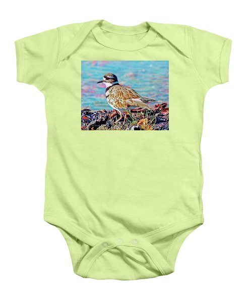 Killdeer  Baby Onesie by Ken Everett